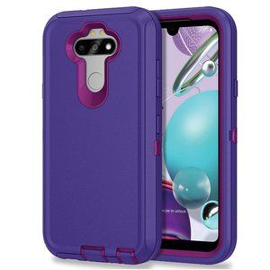 LG K31 Heavy Duty Protective Shockproof Phone Case